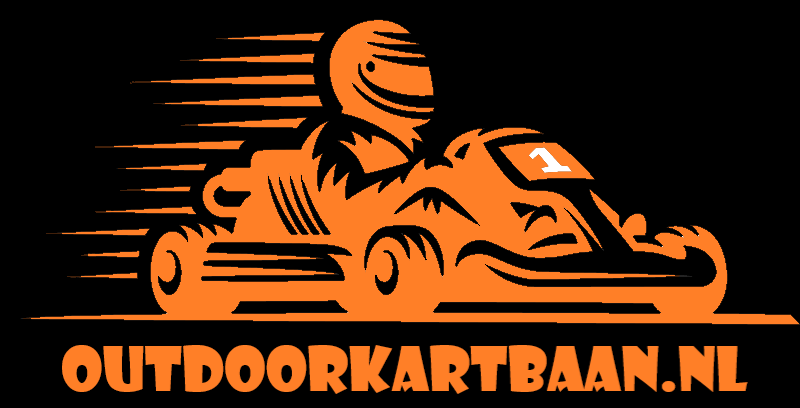 Logo outdoorkartbaan in tekst