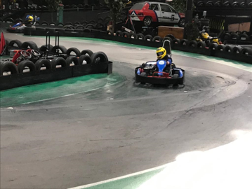 Indoor kartbaan